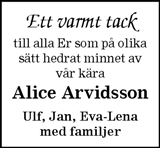 Alice Arvidsson
