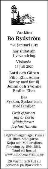 Bo Rydström