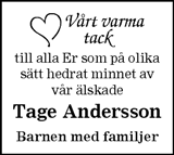 Tage Andersson