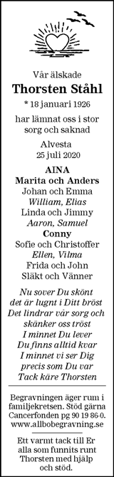 Thorsten Ståhl