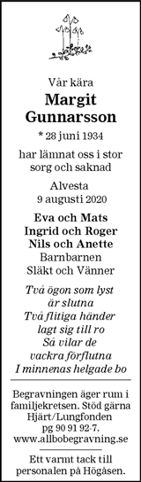 Margit Gunnarsson