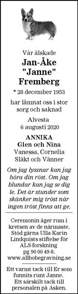 "Jan-Åke ""Janne"" Fremberg"
