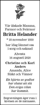 Britta Helander