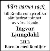 Ingvar Ljungdahl