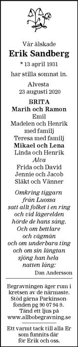 Erik Sandberg