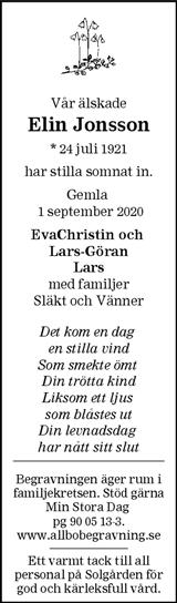 Elin Jonsson
