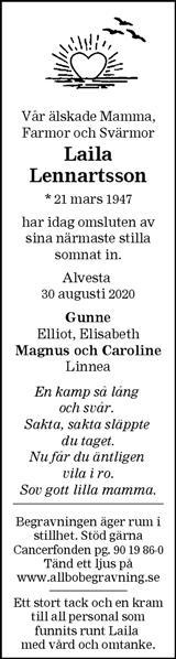 Laila Lennartsson