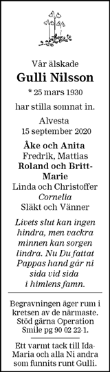 Gulli Nilsson
