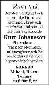 Kurt Johansson