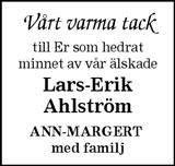 Lars-Erik Ahlström